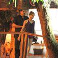 Edson Celulari vai buscar a filha, Sophia, no balé no Rio, em academia no Itanhangá, bairro da Zona Oeste da cidade, na noite desta quarta-feira, 2 de julho de 2014