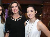 Fátima Bernardes lembra 20 anos em foto e fãs a comparam com filha: 'É a Laura?'