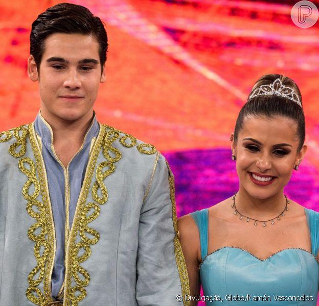 Mãe de Nicolas Prattes entregou namoro do ator com a bailarina Mayara Araújo