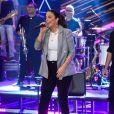 Ivete Sangalo parabeniza Sabrina Sato por gravidez em gravação do 'Altas Horas' nesta sexta-feira, dia 04 de maio de 2018