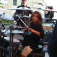 Em seu retorno aos palcos, Ivete ganhou a companhia do filho, Marcelo