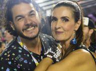 Fátima Bernardes curte aniversário de amiga com namorado, Túlio Gadêlha: 'Luz'