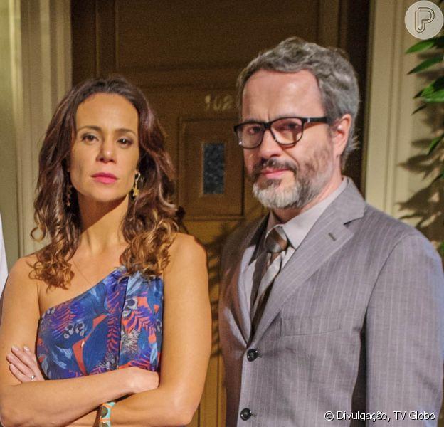 Nos próximos capítulos de 'Em Família', Juliana (Vanessa Gerbelli) vai contar para Nando (Leonardo Medeiros) que ele pode ser o pai de Bia (Bruna Faria)