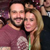 Zilu Camargo e namorado, Marco Antonio, trocam beijo em festival. Fotos e vídeo!