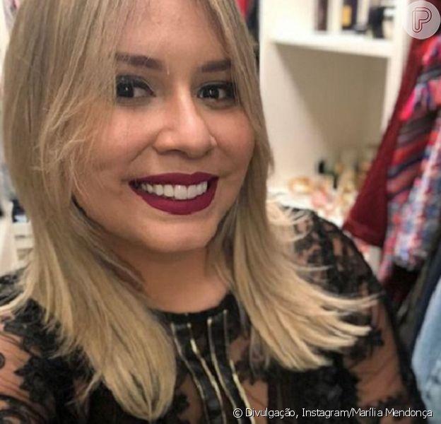 Marília Mendonça pondera sobre emagrecimento e dieta, negando cirurgia bariátrica em vídeo ao vivo neste domingo, dia 06 de maio de 2018