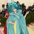 Atriz Frances McDormand de Pierpaolo Piccioli's para Valentino Alta-Costura Verão 2018
