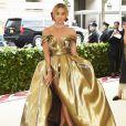 A atriz Jasmine Sanders  vestindo H&M no Met Gala 2018