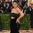 Kendall Jenner  vestindo Alexander Wang no Met Gala 2018