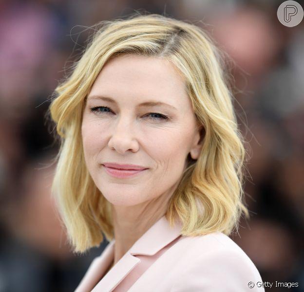 'Mudanças não acontecem da noite para o dia', declarou Cate Blanchett durante coletiva de imprensa de abertura do Festival da Cannes 2018