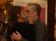 Maria Ribeiro ganha beijo de Fábio Assunção ao lançar novo livro no RJ. Fotos!