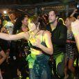 Leticia Colin caiu da dança e se divertiu na festa de lançamento da novela 'Segundo Sol'
