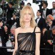 A modelo russa Daria Strokous de  Jean Louis Sabaji  no Festival de Cannes 2018