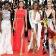 Famosas prestigiam a exibição de 'Sorry Angel' durante o 71º Festival de Cannes no Palais des Festivals, em Cannes, na França, nesta quinta-feira, 10 de maio de 2018
