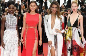 Decote e fenda em Cannes: famosas ousam em looks na exibição de 'Sorry Angel'
