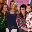 Maria Ribeiro recebeu as ex-mulheres de Fabio Assunção no lançamento de seu novo livro, em São Paulo