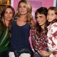 Maria Ribeiro foi prestiagada pelas ex-mulheres de Fabio Assunção,  Karina Tavares e Priscila Borgonovi, e pela filha do ator, Ella Felipa, no lançamento do novo livro, em São Paulo, na quinta-feira, 10 de maio de 2018
