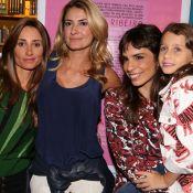 Ex-mulheres e filha de Fabio Assunção prestigiam Maria Ribeiro ao lançar livro