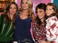 1843665590d56 Ex-mulheres e filha de Fabio Assunção prestigiam Maria Ribeiro ao lançar  livro