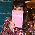 Maria Ribeiro no lançamento do livro 'Tudo o que eu sempre quis dizer, mas só consegui escrevendo', em São Paulo