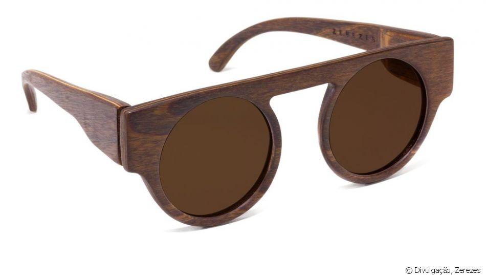 6c9d607943ae2 A moda consciente oferece produtos biodegradáveis como o óculos da Zerezes  que está a venda no site por R 450
