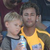 Neymar destaca semelhança entre ele e o filho em foto: 'Moleque parece o pai'