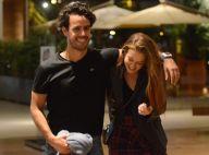 Marina Ruy Barbosa e o marido, Xande Negrão, se divertem em passeio no shopping