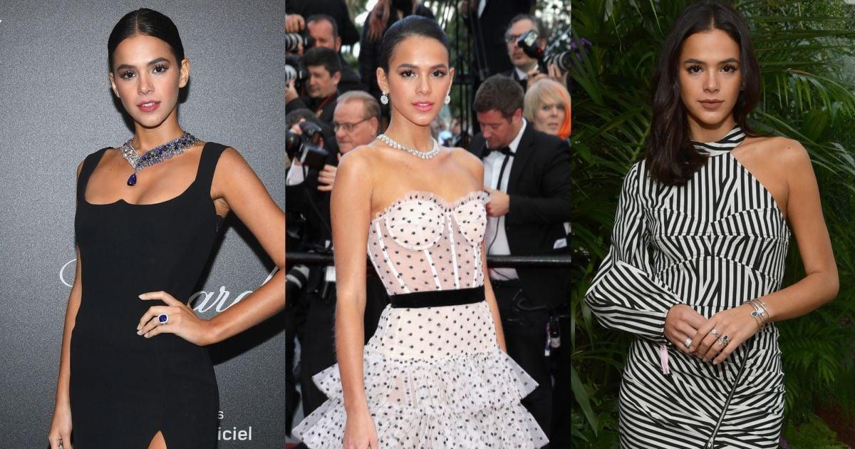 b594f0aa203 Bruna Marquezine em Cannes  relembre os looks da atriz no festival de  cinema! - Purepeople