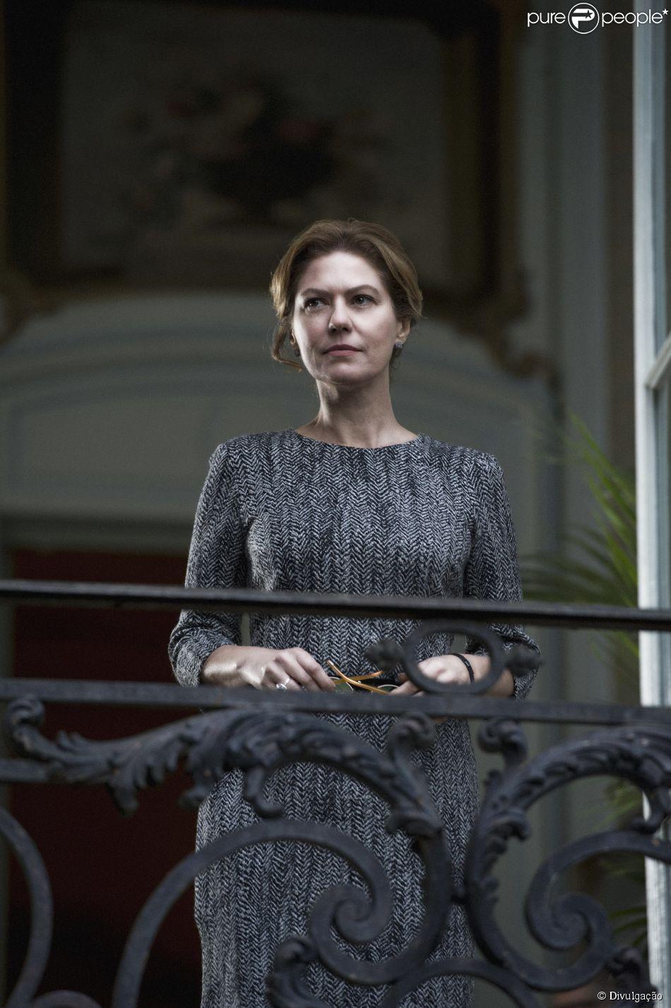 Patricia Pillar é a anfitriã Angela Mahler, em 'O Rebu', a nova novela das onze da Globo, que estreia nesta segunda-feira, 14 de julho de 2014