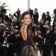 Alessandra Ambrosio assistiu a pré-exibição do longa 'BlacKkKlansman'