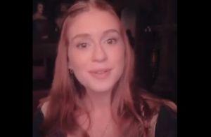 Marina Ruy Barbosa admite dificuldade em ser atriz: 'A gente grava muito'. Vídeo