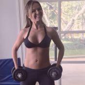 Eliana mostra barriga seca após 2 gestações: 'Começo a ver resultado de treinos'