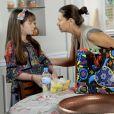 Poliana (Sophia Valverde) é proibida por Luísa (Milena Toscano) de se aproximar de Sr. Pendlenton, no capítulo que vai ao ar nesta quinta-feira, dia 17 de maio de 2018, na novela 'As Aventuras de Poliana'
