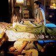 João (Igor Jansen) entra na casa de Poliana (Sophia Valverde) durante a noite e precisa se esconder quando Luísa (Milena Toscano) entra no quarto da sobrinha, no capítulo que vai ao ar nesta sexta-feira, dia 18 de maio de 2018, na novela 'As Aventuras de Poliana'