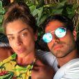 Grazi Massafera está curtindo férias com namorado, Patrick Bulus, em Fernando de Noronha