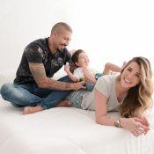 Fernando Medeiros e Aline Gotschalg fazem ensaio com filho, Lucca: 'Muito amor'