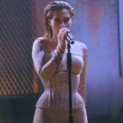 Cleo Pires ousa com lingerie nude em novo pocket show no Rio. Fotos!