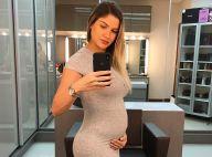 Andressa Suita relata aumento de apetite na gravidez: 'Não paro de engordar'