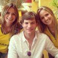 Ashton Kutcher está no estádio Mineirão, em Belo Horizonte