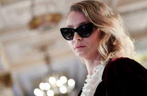 da8e639449c96 Óculos escuros gatinho e com toque retrô são destaques em Cannes. Veja  fotos!