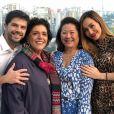 Duda Nagle reuniu família e amigos em comemoração dos 35 anos
