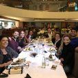 Duda Nagle festejou aniversário em jantar no Fleming's Prime Steakhouse & Wine Bar, em São Paulo