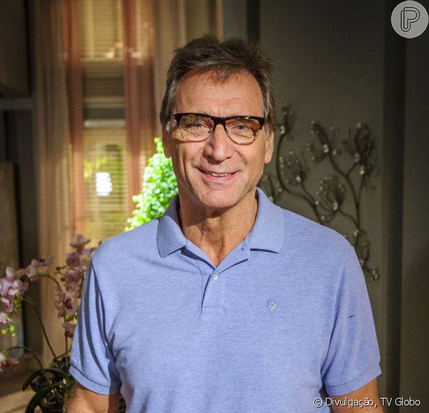 Herson Capri vai ser papai novamente! Mulher do ator de 62 anos está grávida, segundo colunista
