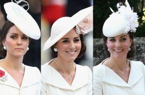 Kate Middleton repete vestido pela terceira vez em casamento do príncipe Harry