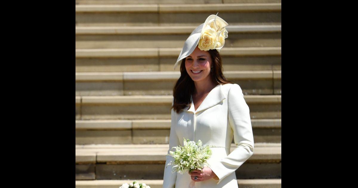 c31f17d7f5cae Kate Middleton repete vestido Alexander McQueen no casamento de Meghan  Markle e príncipe Harry - Purepeople