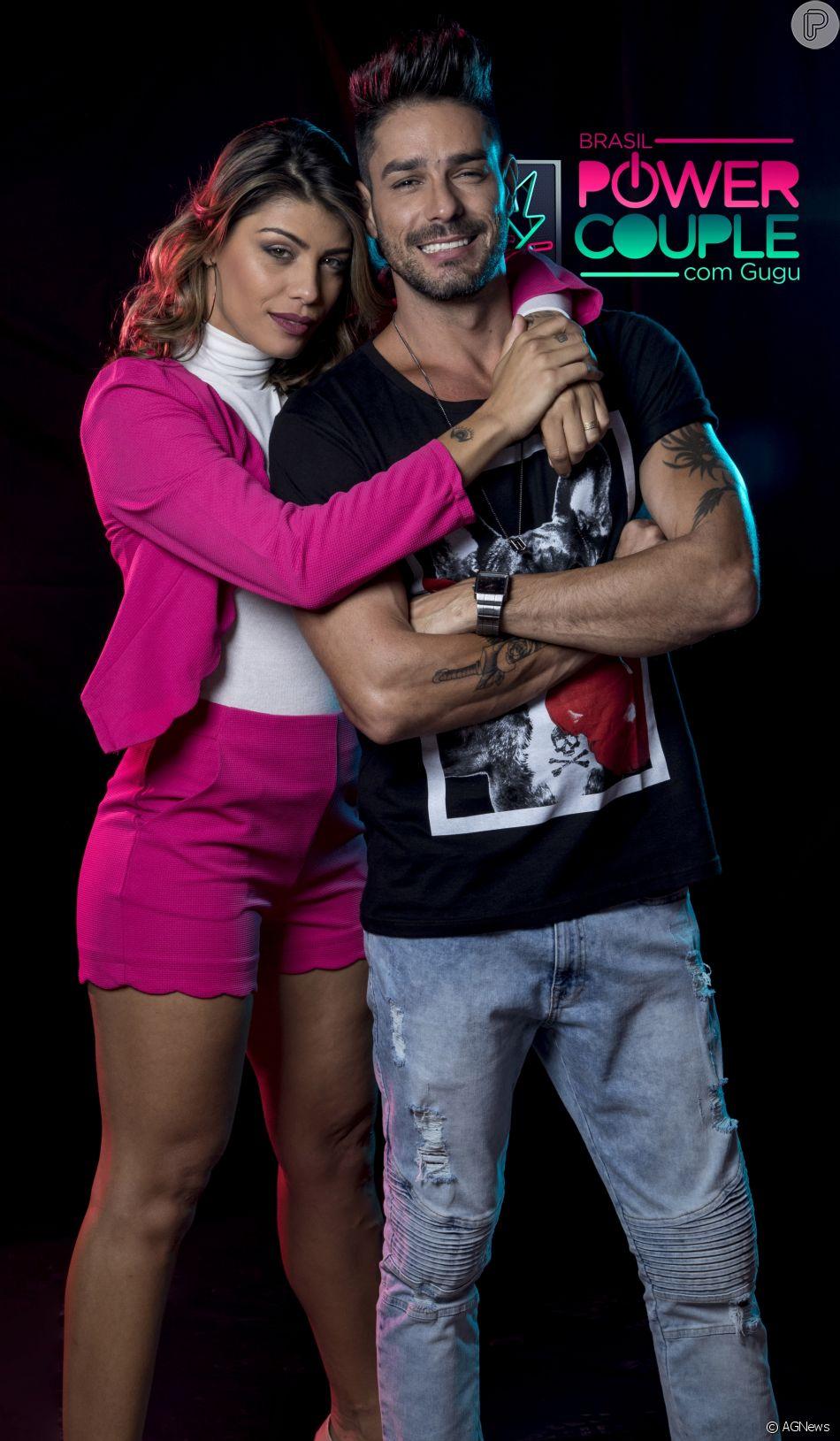 Ex-BBBs Diego e Franciele são afastados do 'Power Couple Brasil', em 19 de maio de 2018