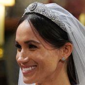 Meghan Markle acordou tranquila para seu casamento com Harry: 'Calma e tagarela'