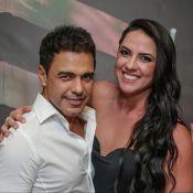 Graciele Lacerda estimula noivo, Zezé Di Camargo, com dieta: 'Alimentos leves'