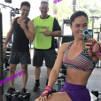 Graciele Lacerda contou que o noivo, Zezé Di Camargo, mudou os hábitos alimentares