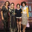 Malu Galli, Hermila Guedes, Marjorie Estiano e Julia Konrad na première do filme 'Paraíso Perdido', no Kinoplex Leblon, Zona Sul do Rio de Janeiro, na noite desta segunda-feira, 21 de maio de 2018