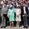 Início das comemorações do aniversário do príncipe Charles aconteceu nesta terça-feira, dia 22 de maio de 2018, no p alácio de Buckingham, em Londres, na Inglaterra